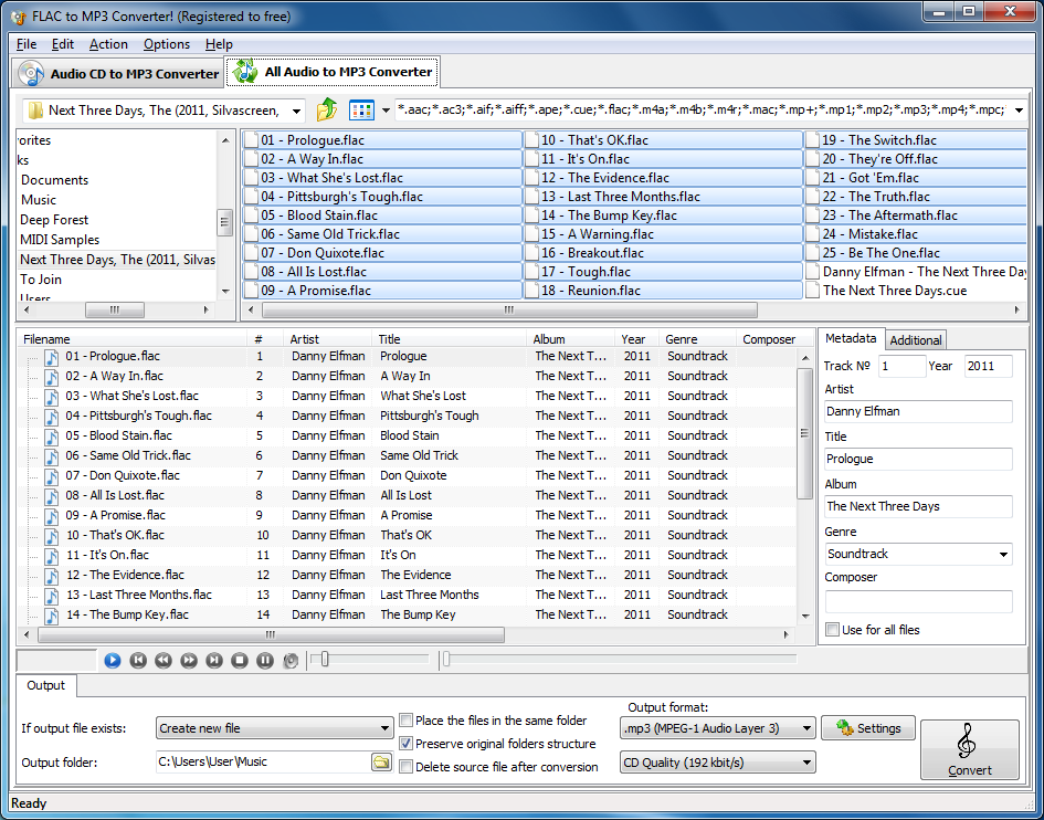 Flac to mp3 converter online